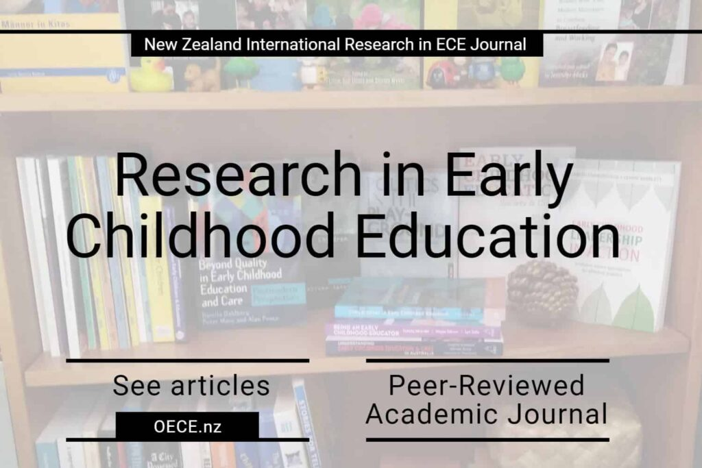 NZIRECE Journal early childhood education research