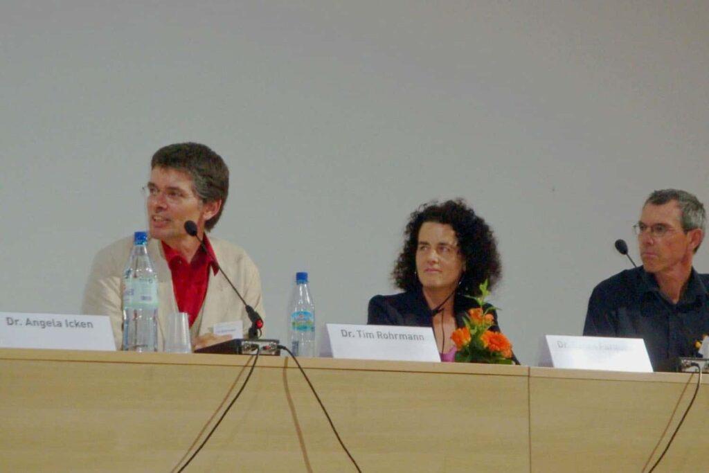 Dr Sarah Alexander at Men In ECE International Conference Berlin