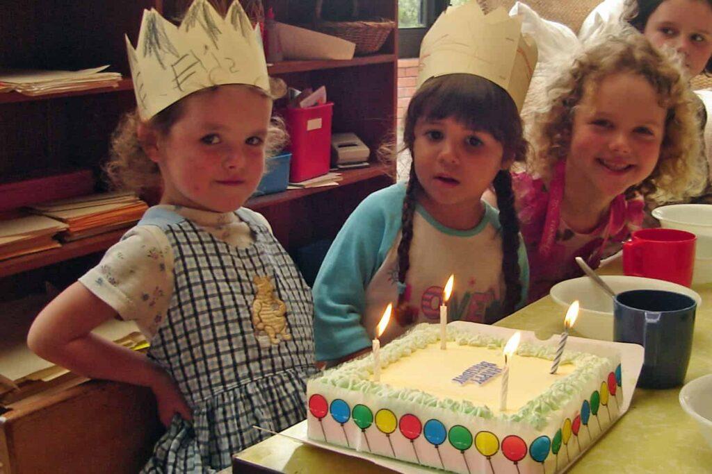 birthday cake 4 years old