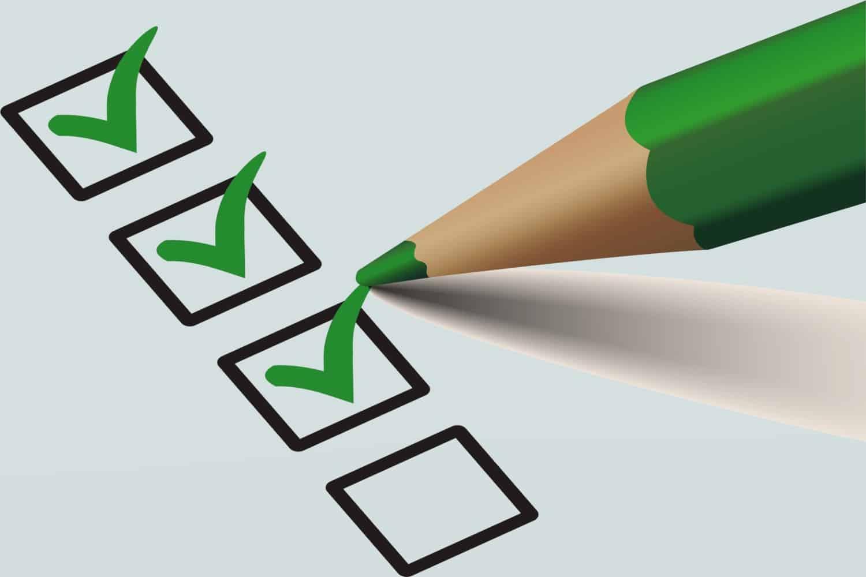 check boxes tick survey promises views