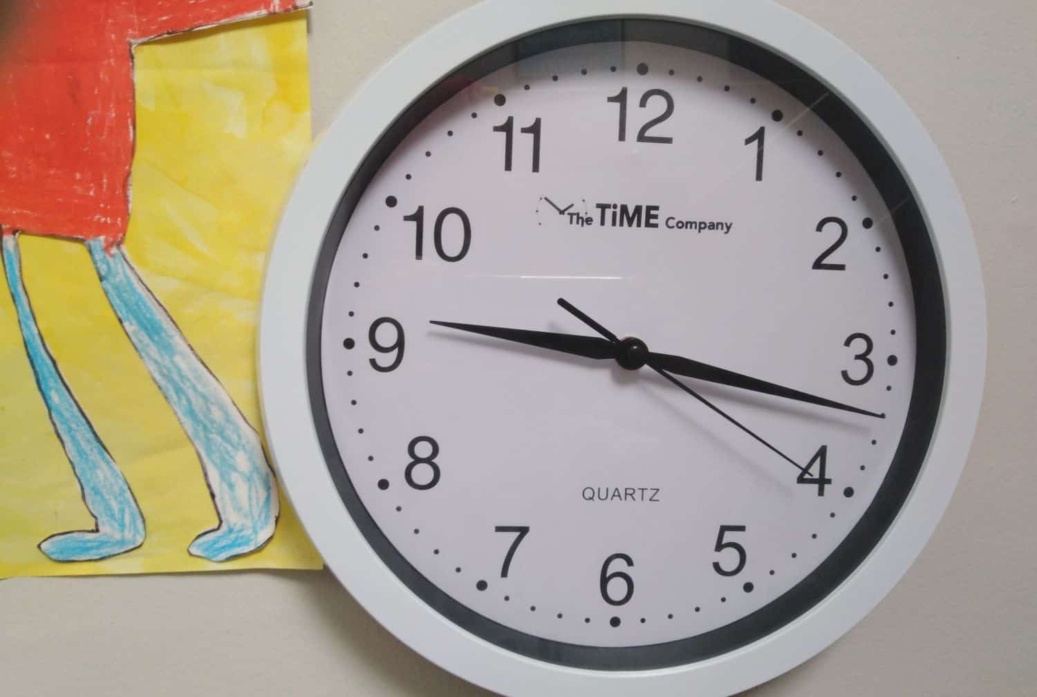 staff late for work parents time clock