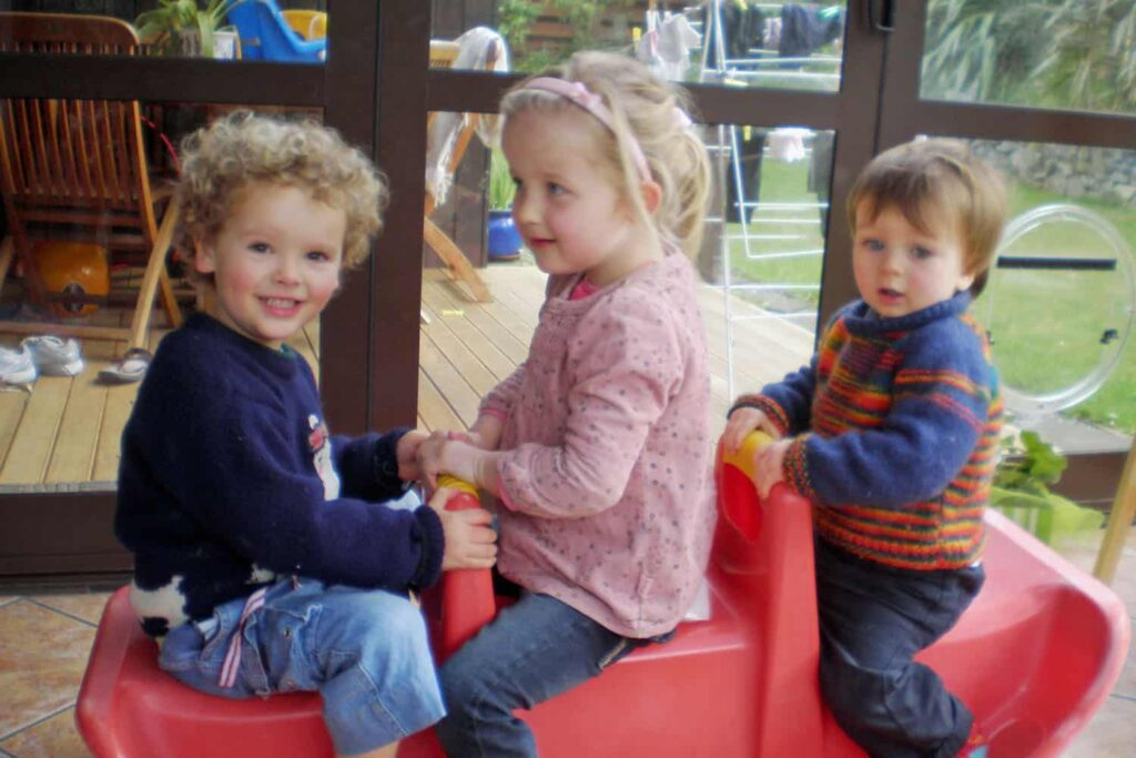 toddlers in home-based early childhood education