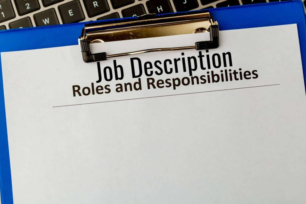 job description for early childhood teacher educator manager staff