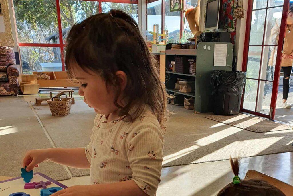 child at kindergarten