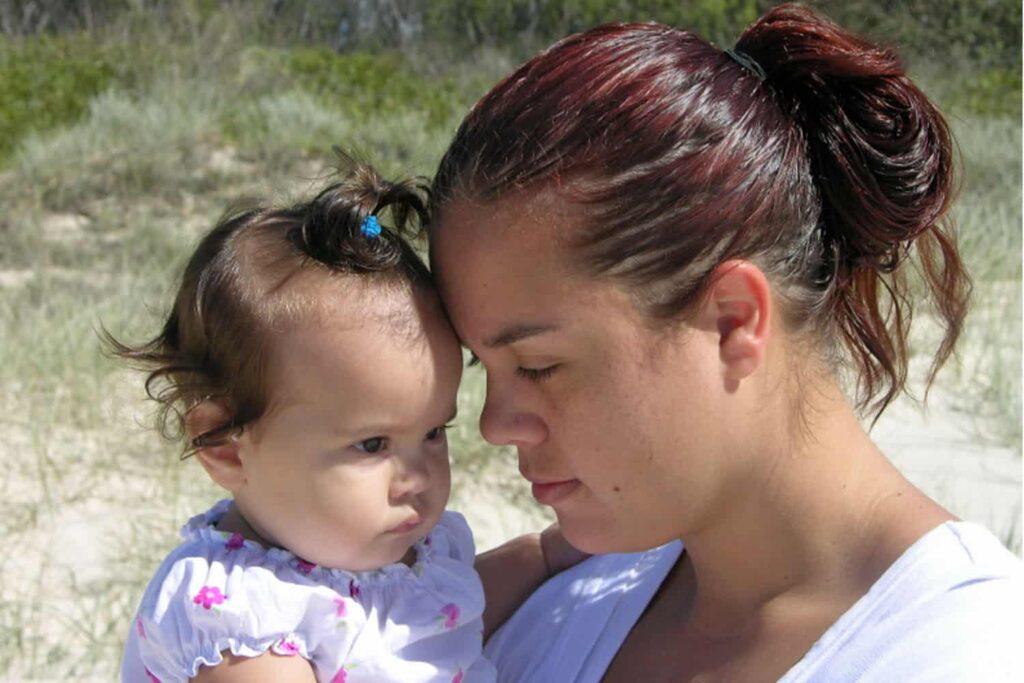 mum baby love attachment