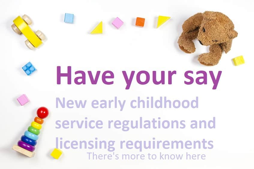 regulation changes have your say