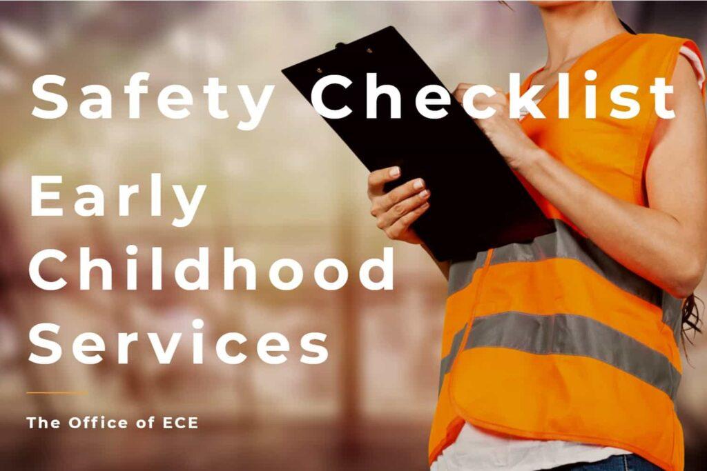 the ece safety checklist
