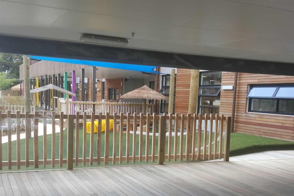 shade covers veranda deck
