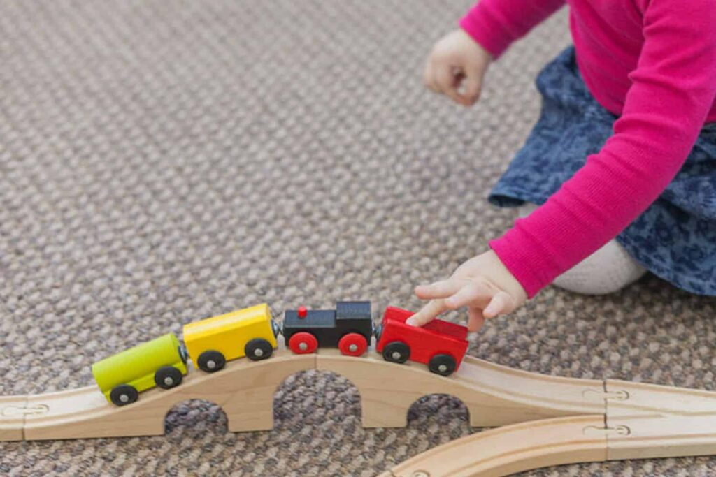 toy train back on track