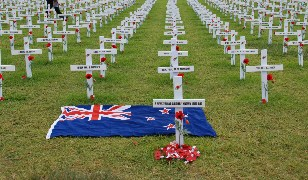 war memorial crosses promoted in early childhood education centres