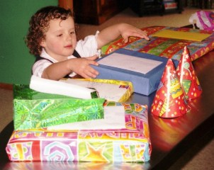 presents and gifts in early childhood